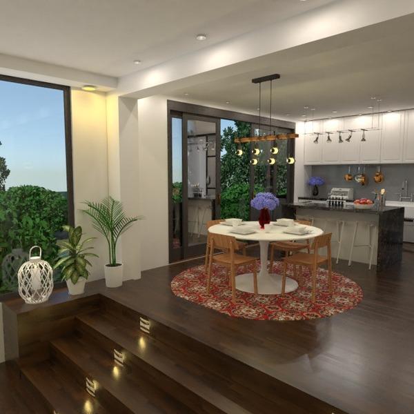 идеи дом гостиная кухня освещение ремонт идеи