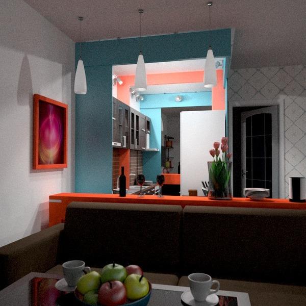 foto decorazioni angolo fai-da-te saggiorno sala pranzo idee