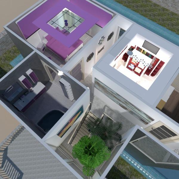 zdjęcia łazienka sypialnia przechowywanie mieszkanie typu studio pomysły