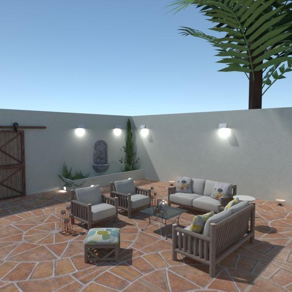 photos maison meubles extérieur eclairage paysage idées