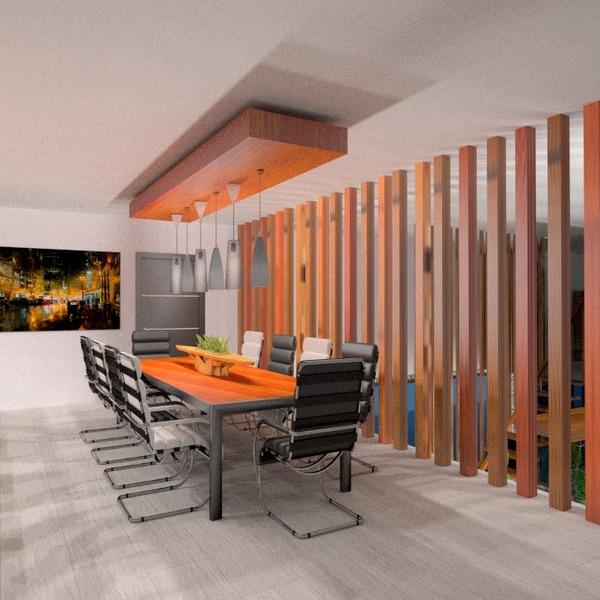 fotos apartamento mobílias iluminação sala de jantar ideias