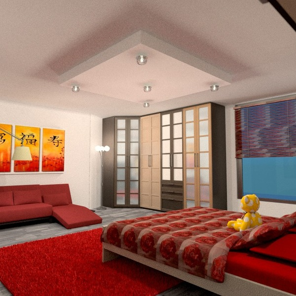 zdjęcia mieszkanie meble sypialnia oświetlenie pomysły