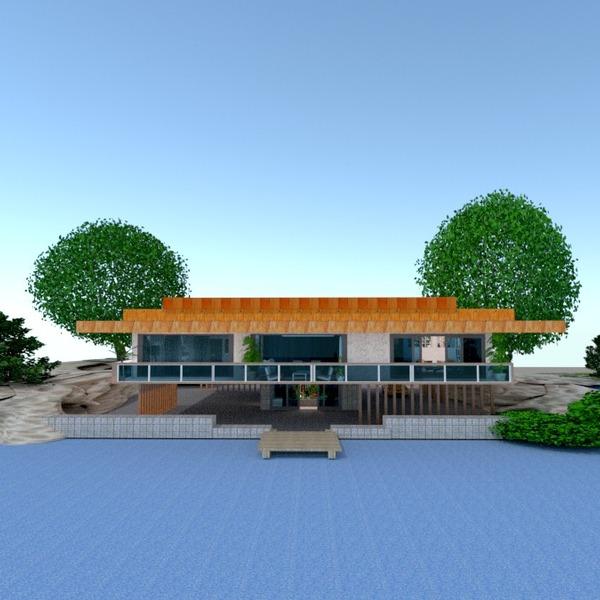 nuotraukos butas namas terasa baldai eksterjeras аrchitektūra idėjos