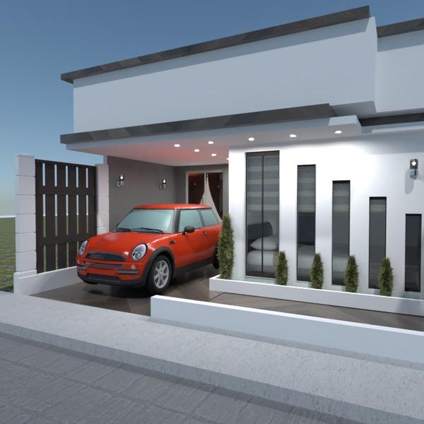 foto casa garage esterno architettura idee