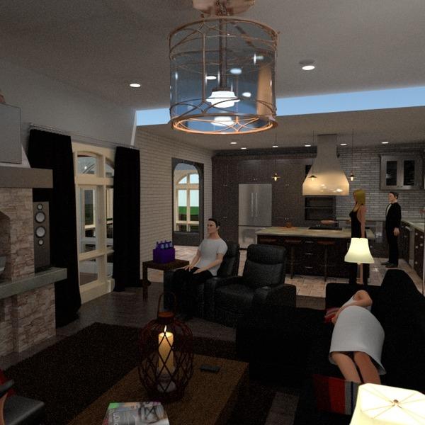 zdjęcia dom pokój dzienny kuchnia pomysły
