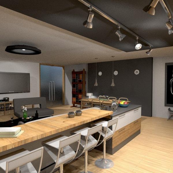 photos meubles décoration eclairage salle à manger entrée idées