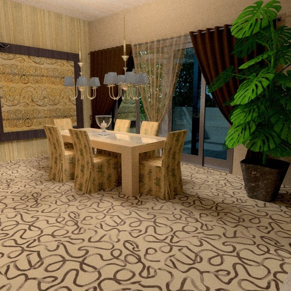 photos appartement meubles salle à manger idées