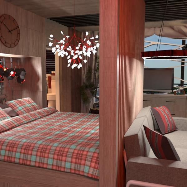 zdjęcia sypialnia biuro oświetlenie architektura przechowywanie pomysły