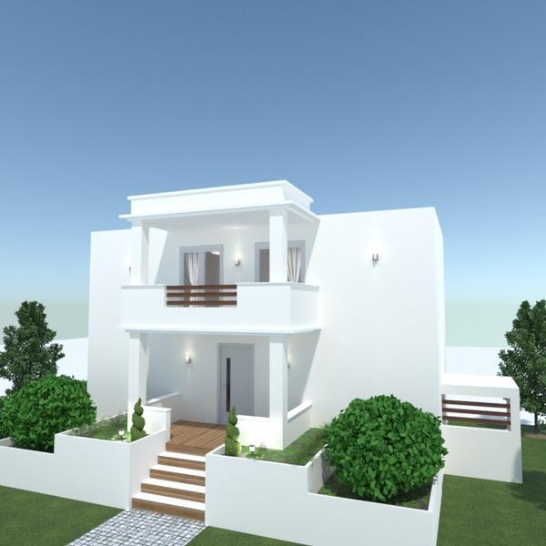 foto casa illuminazione paesaggio idee