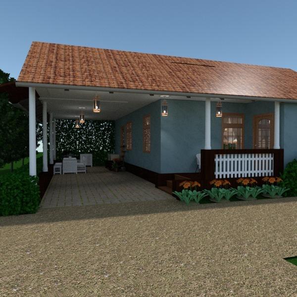 foto casa veranda angolo fai-da-te garage esterno illuminazione rinnovo paesaggio vano scale idee