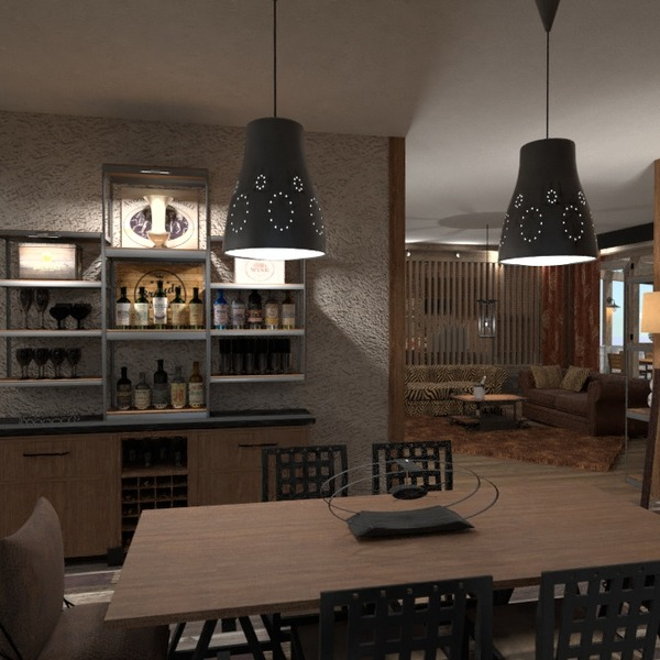 nuotraukos butas svetainė apšvietimas renovacija valgomasis idėjos