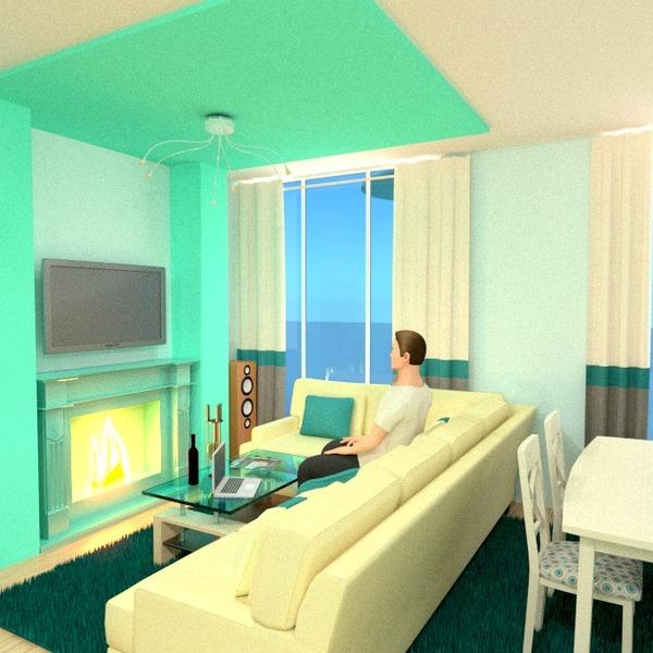 foto appartamento arredamento decorazioni saggiorno cucina illuminazione monolocale idee