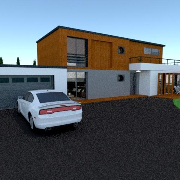 fotos apartamento varanda inferior garagem área externa paisagismo patamar ideias