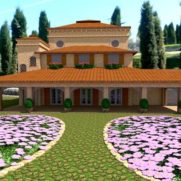 zdjęcia dom krajobraz architektura pomysły
