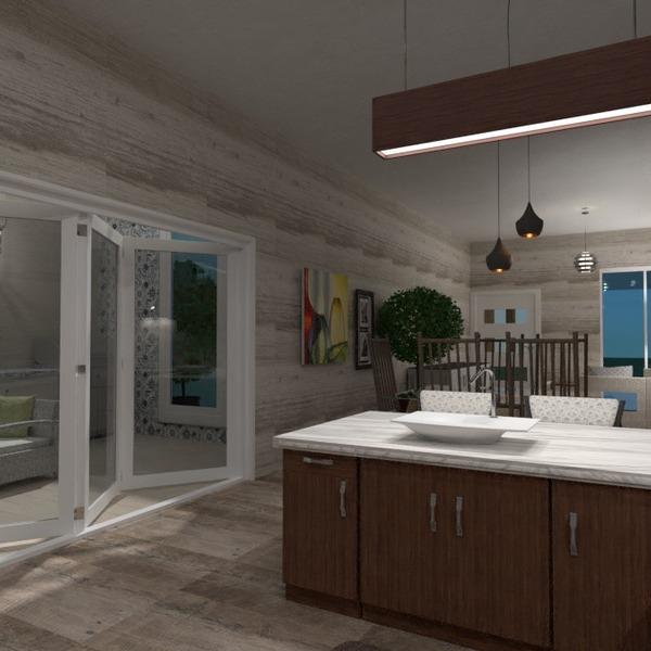 foto veranda decorazioni cucina illuminazione architettura idee