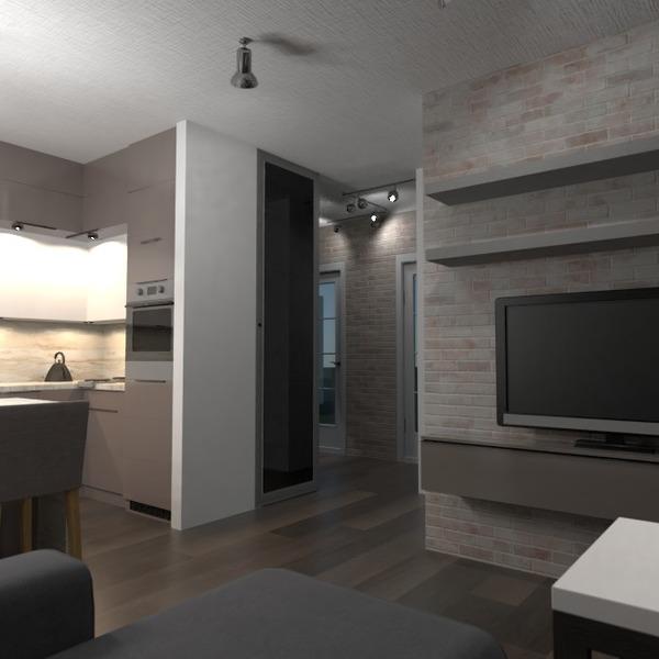 foto appartamento arredamento saggiorno cucina illuminazione idee