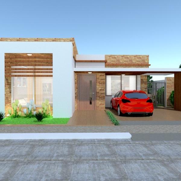 fotos casa garaje exterior iluminación paisaje arquitectura descansillo ideas