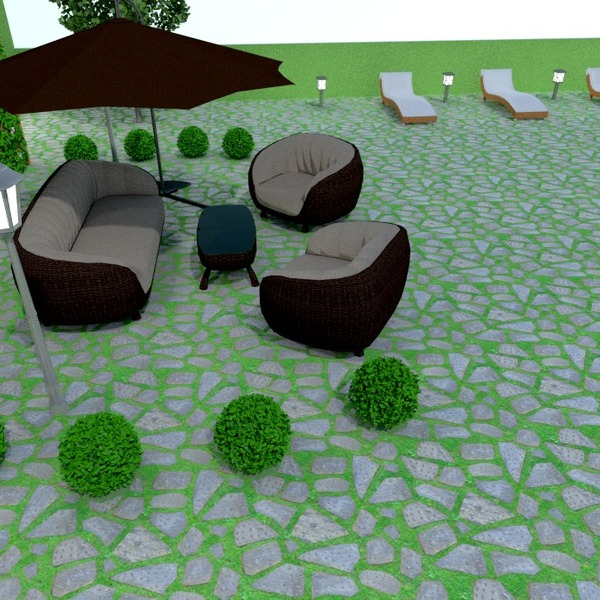 fotos terraza muebles exterior paisaje ideas