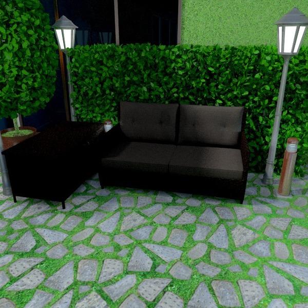 fotos terraza muebles exterior iluminación ideas