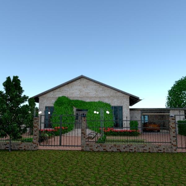 fotos casa terraza exterior paisaje ideas