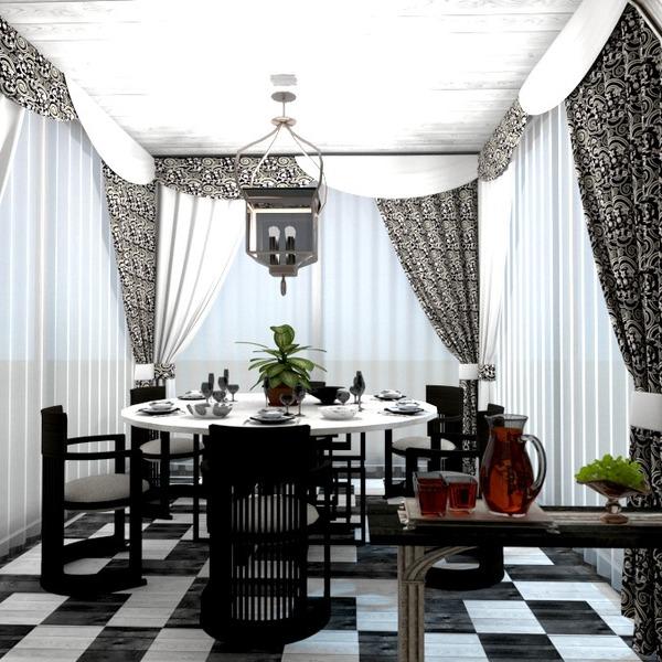 foto appartamento arredamento decorazioni sala pranzo idee