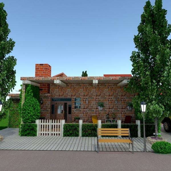 photos maison terrasse garage extérieur architecture idées