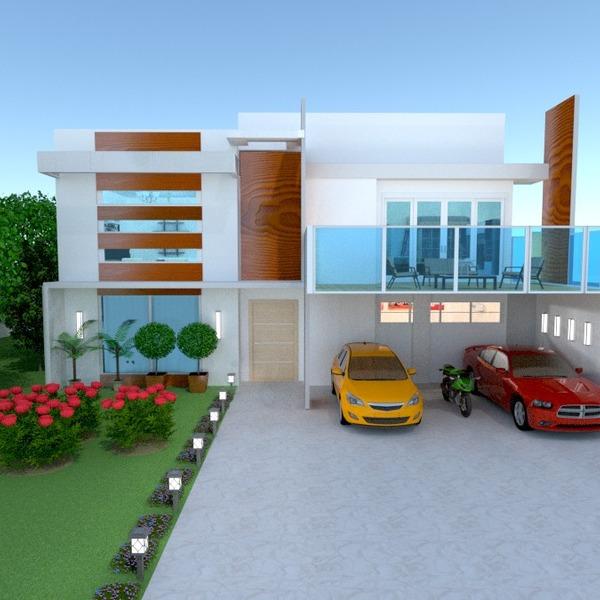 foto casa veranda garage esterno paesaggio architettura idee