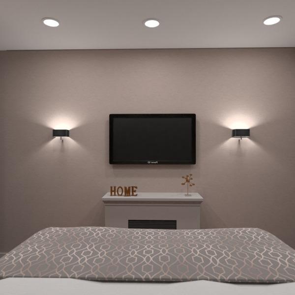 foto appartamento camera da letto illuminazione rinnovo idee
