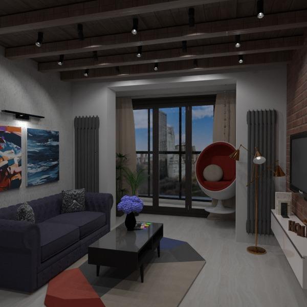 идеи квартира гостиная кухня освещение ремонт идеи