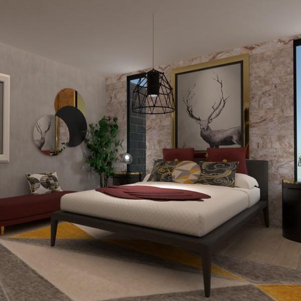 fotos apartamento mobílias decoração dormitório iluminação ideias