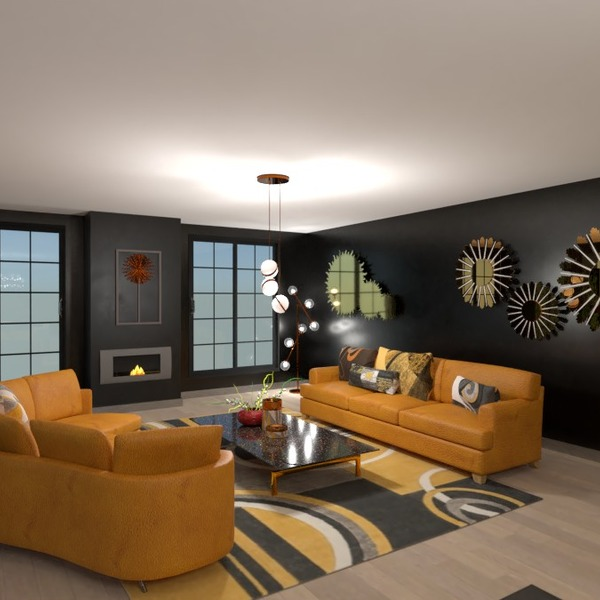 photos appartement meubles décoration salon eclairage idées