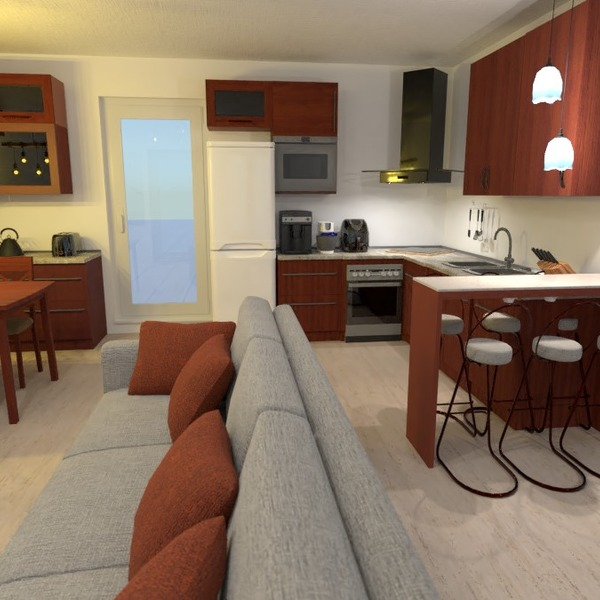 zdjęcia pokój dzienny kuchnia pomysły