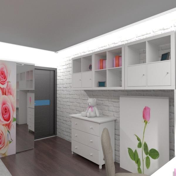 zdjęcia mieszkanie dom meble wystrój wnętrz sypialnia pokój diecięcy oświetlenie remont przechowywanie pomysły