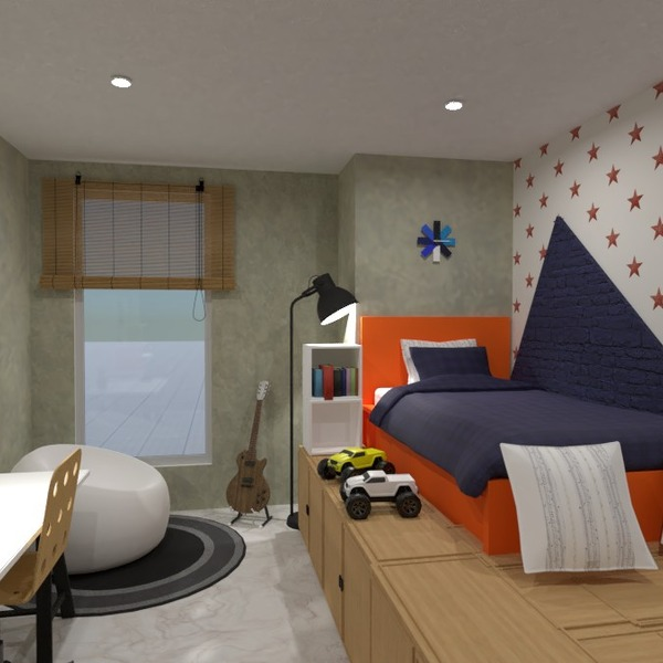 foto decorazioni camera da letto cameretta ripostiglio idee