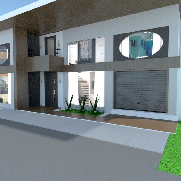 foto appartamento veranda garage esterno paesaggio architettura vano scale idee