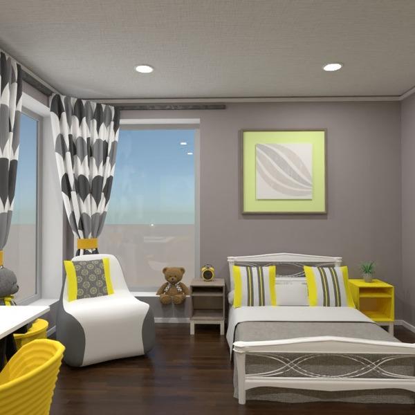 идеи декор спальня детская освещение идеи