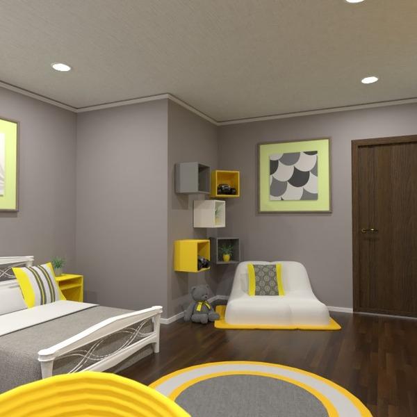 foto decorazioni camera da letto cameretta illuminazione idee