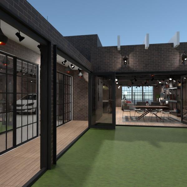 foto casa garage illuminazione idee