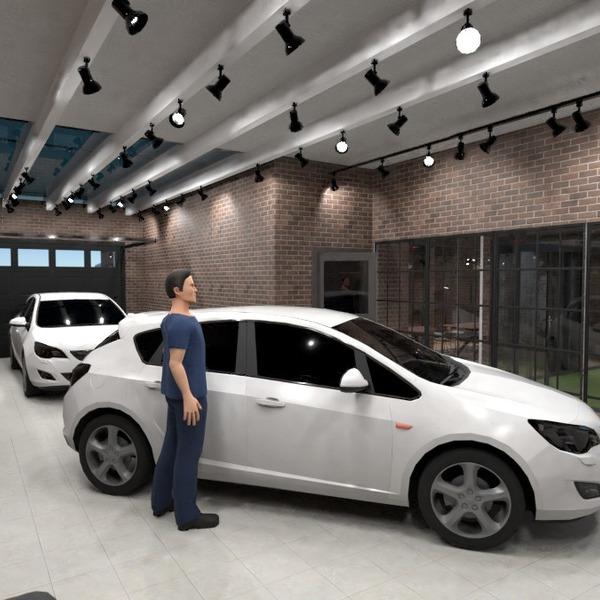 photos maison garage eclairage idées