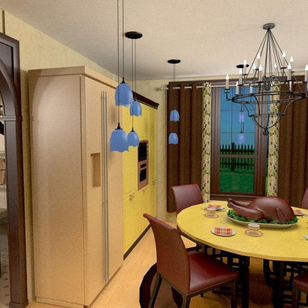 photos décoration cuisine maison salle à manger idées
