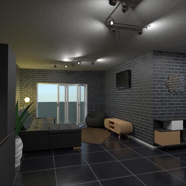 идеи мебель декор гостиная кухня освещение идеи