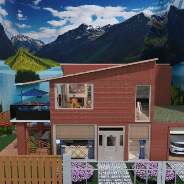 fotos casa varanda inferior decoração garagem ideias