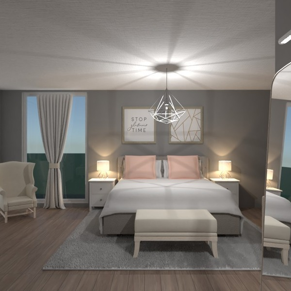 photos meubles décoration chambre à coucher eclairage rénovation idées