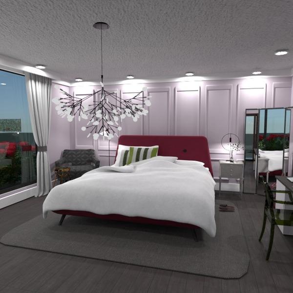 fotos decoração dormitório iluminação utensílios domésticos ideias
