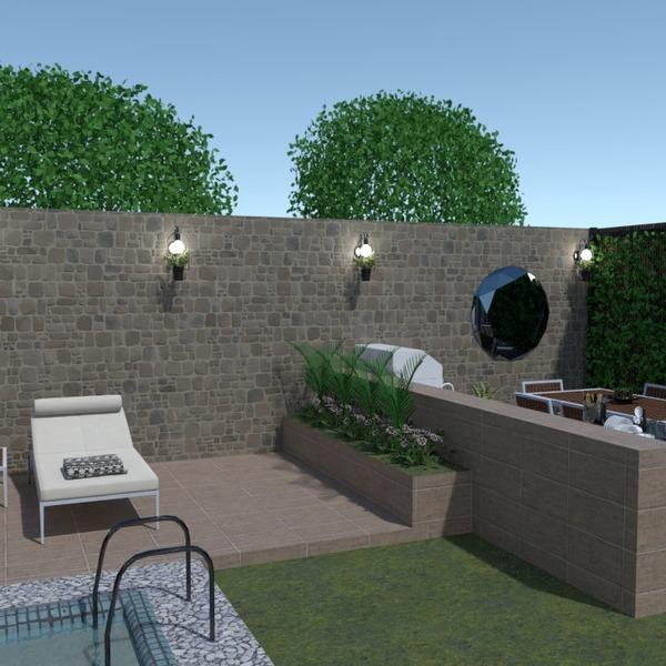 fotos casa terraza salón exterior iluminación ideas