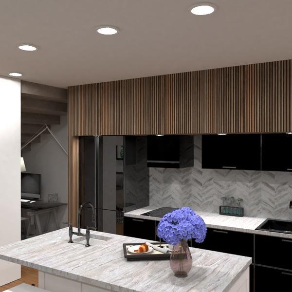 nuotraukos namas miegamasis svetainė virtuvė apšvietimas idėjos