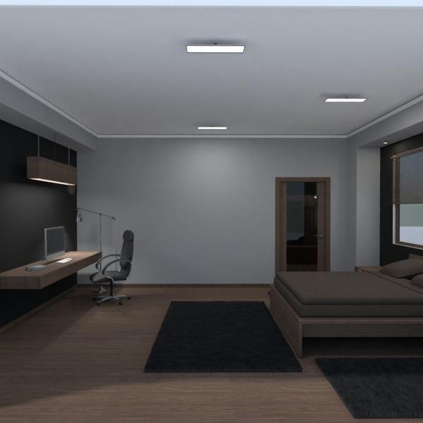foto appartamento casa decorazioni camera da letto studio illuminazione monolocale idee