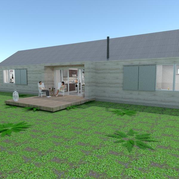 photos maison terrasse garage extérieur eclairage paysage architecture entrée idées