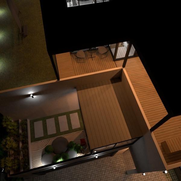 fotos casa terraza exterior iluminación arquitectura ideas