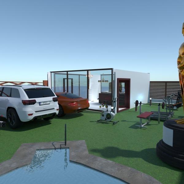 fotos casa área externa ideias